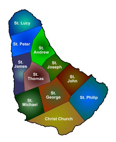 Barbados Parishes