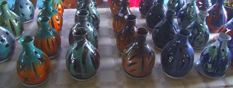 Pottery made in Barbados