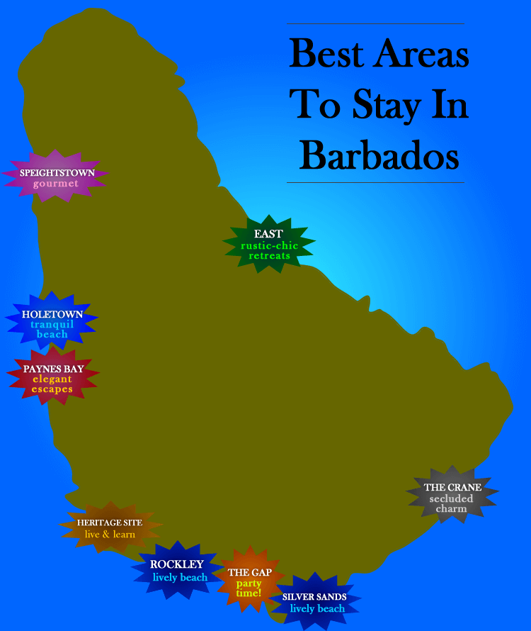 Best areas to stay
