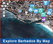 Explore Barbados by Map