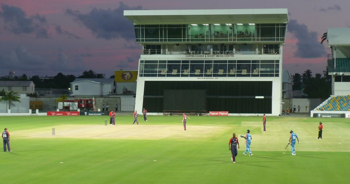 How Long Is A Football Pitch >> Kensington Oval, Barbados