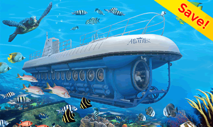 Family Friendly Atlantis Submarines Adventure