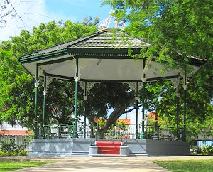 Band stand in Queen's Park, Barbados