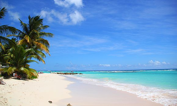 Barbados beach nude