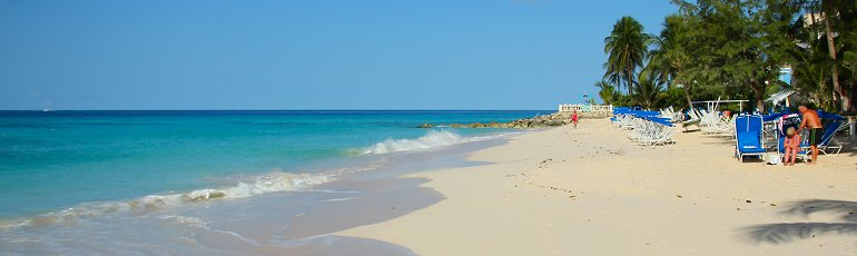Barbados is a beautiful island with stunning beaches