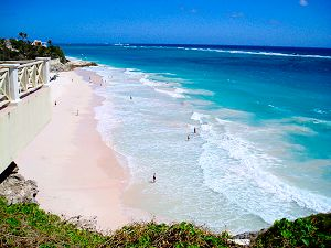 Barbados is home to beautiful Caribbean beaches!