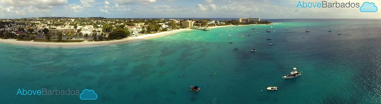 Aerial View Of Carlisle Bay Photo By Barbados Photography