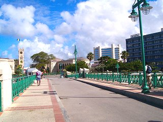 Chamberlain Bridge, Barbados