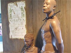 Depicting slavery