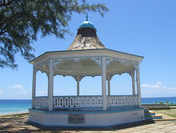 Hastings Rocks Barbados - bandstand