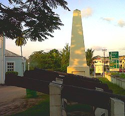 Holetown monument, Barbados