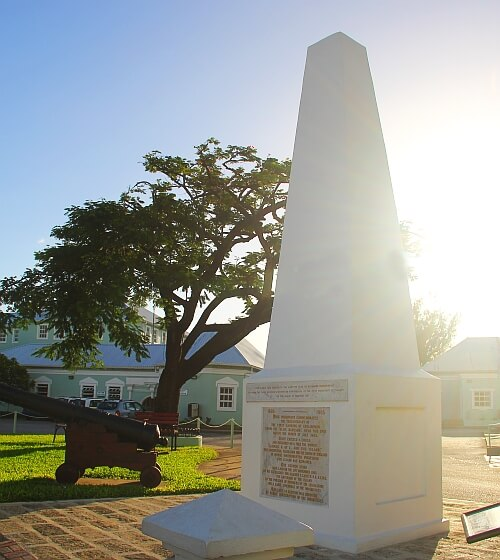 Holetown Monument