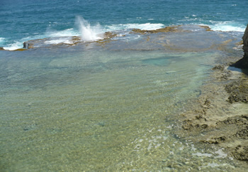 Blow Holes at little Bay Barbados