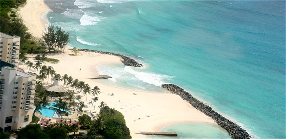 Beach at Needham's Point, Barbados