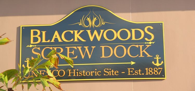 Historic Blackwoods Screw Dock