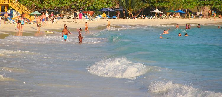 Rockley/Accra beach, Barbados