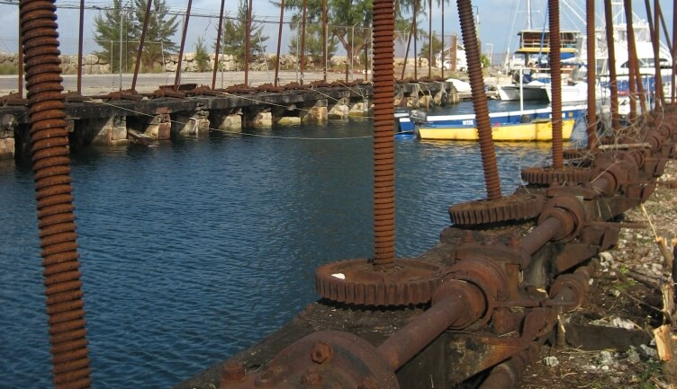 Barbados Screw Dock