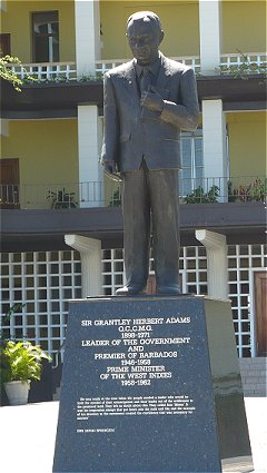 Statue of Sir Grantley Adams