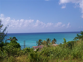 View at South Point Lighthouse, Barbados