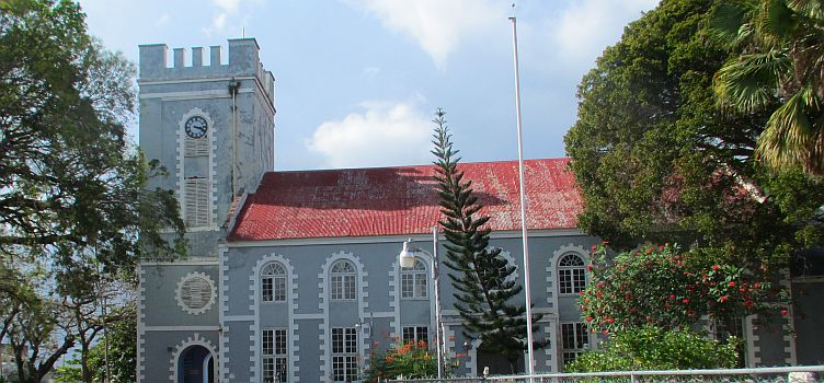 St. Mary's Anglican Church - First Church In Bridgetown