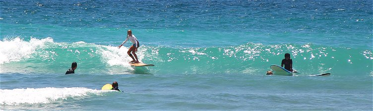 Surfing At Surfers Point
