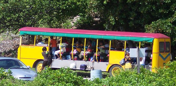 Barbados Public Transport Buses ZRs Vans And Minibuses - Barbados tours